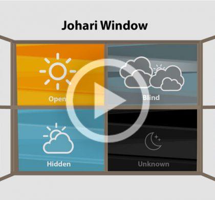 How open are you? (The JoHari Window)